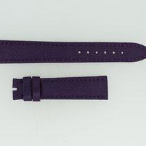 Breguet Lederband / Seide / Lila - 16/14,5 Länge 115/65
