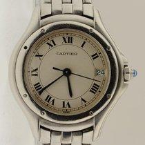 Cartier Cougar Ladies Quartz 31mm Stainless Steel Roman Dial...