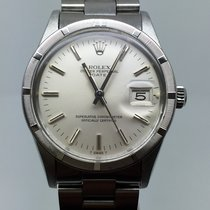 Rolex DATE 34MM AUTOMATIC SILVER DIAL