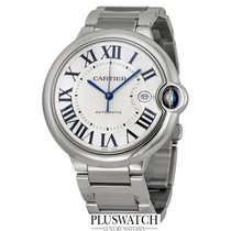Cartier Ballon Bleu Stainless Steel Silver Dial 42mm M