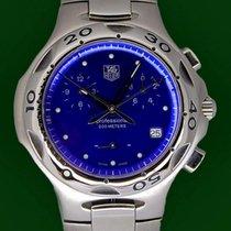 TAG Heuer Kirium CL1112 Chronograph Blue Dial