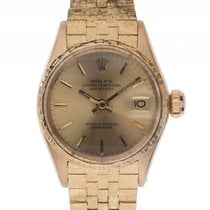 Rolex Datejust Lady 18kt Gelbgold Automatik Armband Gelbgold...