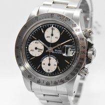 Tudor Oysterdate Stahl Uhr 79180 Chronograph