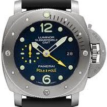 Panerai - Panerai Luminor Submersible 1950 3 Days GMT Pole2