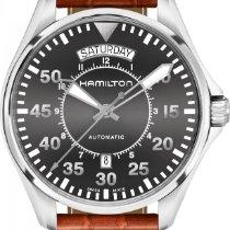 Hamilton Khaki Aviation H64615585 Herren Automatikuhr Sehr gut...