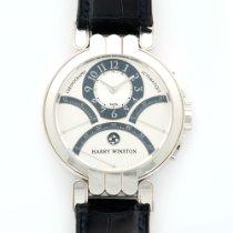 Harry Winston White Gold Excenter Triple Retrograde Watch