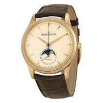 Jaeger-LeCoultre Master Ultra Thin Moonphase Brown Leather...