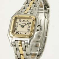 Cartier Panthere Stahl Gold Damenuhr