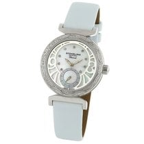 Stuhrling 504.1215P7 Soiree Mother of Pearl Diamond Pink...
