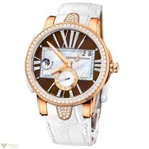 Ulysse Nardin Dual Time 18K Rose Gold & Diamonds Women`s...