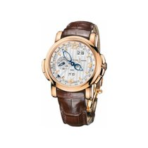 Ulysse Nardin GMT +/- Perpetual 42mm rose gold