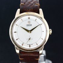 Omega White dial Oversize Caliber 332 aus 1947 Super Zustand