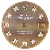 Rolex Ladies Datejust Mother of Pearl Diamond Dial Watch