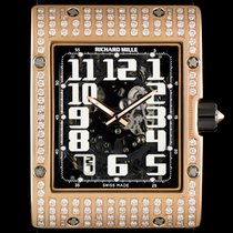 Richard Mille 18k R/G Diamond Set Skeleton Dial Extra Flat...