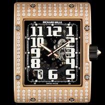 Richard Mille 18k R/G Diamond Set Skeleton Dial Extra Flat...