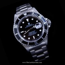 Rolex Submariner Black on Black All Stainless