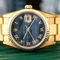 """Rolex Date Just """"FERRITE """" Dial  NOS  Full Gold"""