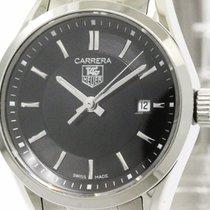 TAG Heuer Polished Tag Heuer Carrera Steel Quartz Ladies Watch...