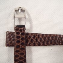 Omega 13 mm genuine Omega lizard skin band 8 mm steel Omega...