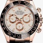 Rolex Daytona Rose/Pink Gold  Cream Dial Unworn