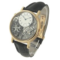 Breguet 7067BR/G1/9W6 Tradition 7067 GMT - Rose Gold on Strap...