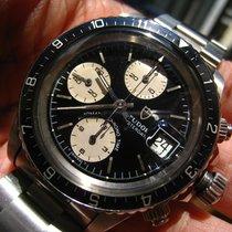 勞力士 (Rolex) Tudor 79170 BLack dial Rotated Big BLock Chronogra...