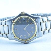 Ebel Classic Wave 1911 Damen Uhr Stahl/750 Gold 28mm Top Zustand