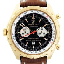 Breitling Chronomatic H41360 18K Rose Gold Limited Edition...