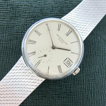 百達翡麗 (Patek Philippe) White Gold Calatrava Automatic Bracelet...