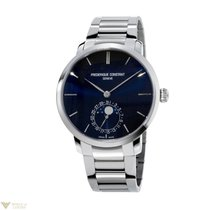 Frederique Constant Moonphases Stainless Steel Men`s Watch