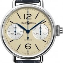 Bell & Ross WW1 Chronographe Monopoussoir Heritage NEU mit...