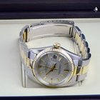 Rolex date two tone oyster