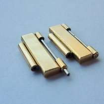 Omega 2X Omega 16mm Constellation 750K  Gold Glied Link 18k