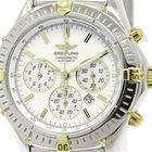 Breitling Shadow Flyback Chronograph Mop Dial Watch B35312...