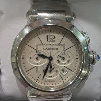 Cartier Pasha Steel Chronograph