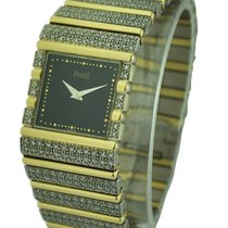 Piaget Mens Square Polo White and Yellow Gold