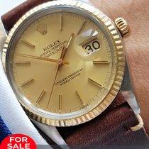 Rolex Genuine Rolex Datejust Automatic Automatic Steel Gold 36mm