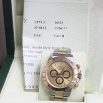 Rolex Daytona 18K Yellow Gold & Stainless Steel Two Tone...