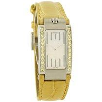 Movado Elliptica Ladies Yellow Gemstones Stainless Steel Watch...