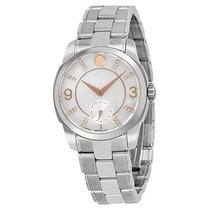 Movado LX Mother of Pearl Dial Stainless Steel Ladies Watch...