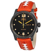 Mido Multifort Touchdown Special Edition Black Dial Men's...