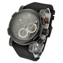 Romain Jerome Moon Dust Black Mood Chrono in Carbon Fiber and...