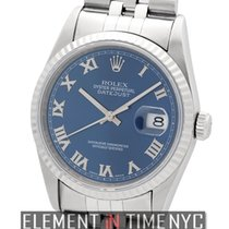 Rolex Datejust Stainless Steel Blue Roman Dial  Ref. 16234
