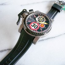 Graham Chronofighter Titanium Oversize Tourist Trophy