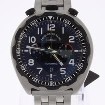 Zeno-Watch Basel Bullhead Pilot Chronograph limited Edition NEW