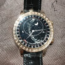 Patek Philippe 6104R Sky Moon Celestial Baguette Diamond Novelty