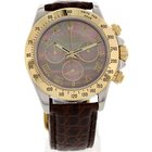 Rolex Daytona Cosmograph 18k YG / SS 116523 Mother of Pearl
