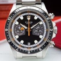 Tudor 70330 Heritage Chronograph Grey Dial SS / SS (24620)