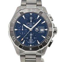 TAG Heuer Aquaracer 43 Chronograph Blue Dial