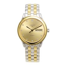Longines Flagship Gold And Steel Gold Automatic L4.799.3.37.7